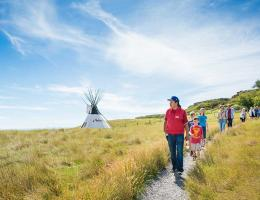 Hike into the back-country surrounding Head-Smashed-In Buffalo Jump